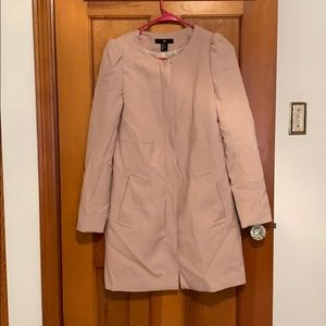 H&M powder pink frock coat